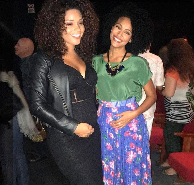 Juliana Alves e Sheron Menezes (Foto: Divulgação)
