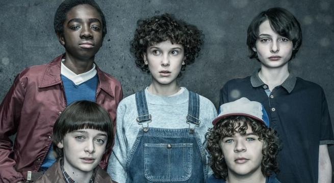 """Atores de """"Stranger Things"""" na segunda temporada da série (Foto: Divulgação/Netflix)"""