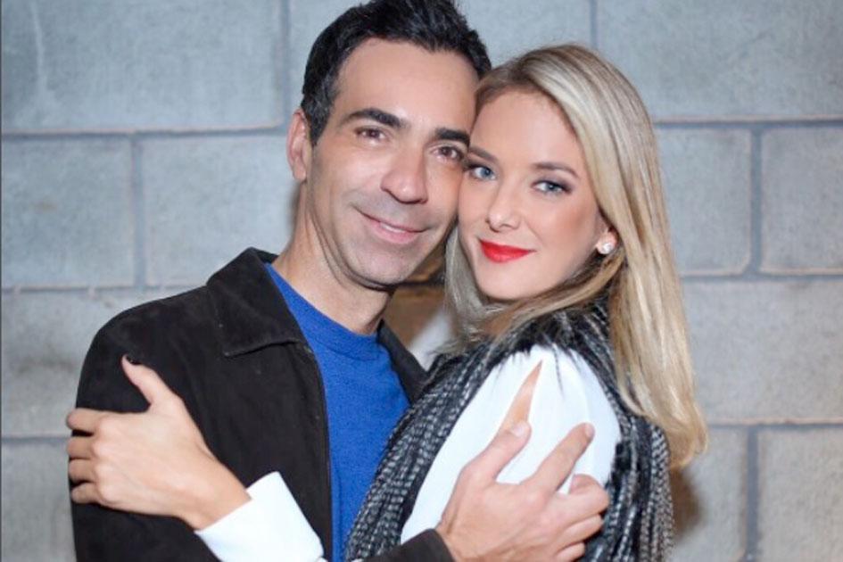 A apresentadora Ticiane Pinheiro e o jornalista César Tralli já estão casados. (Foto: Divulgação)
