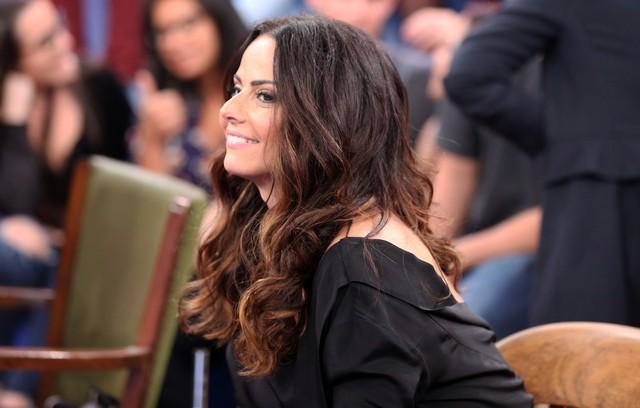Viviane Araújo no Altas Horas (Foto: Mariana Revoredo/TV Globo)