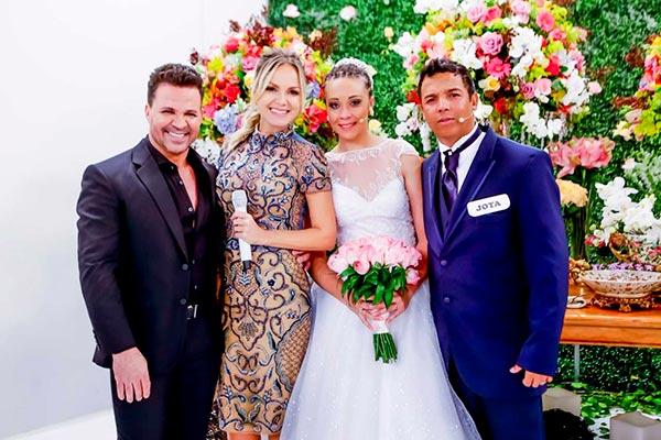 Eliana atingiu alta audiência com casamento especial (Fotos: Gabriel Cardoso/SBT)