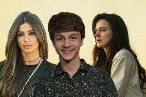 duas mulheres e um garoto integram o elenco de O Outro Lado do Paraíso