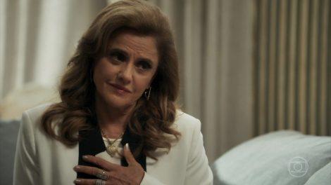 Sophia (Marieta Severo) em cena de O Outro Lado do Paraíso (Foto: Reprodução/Globo)