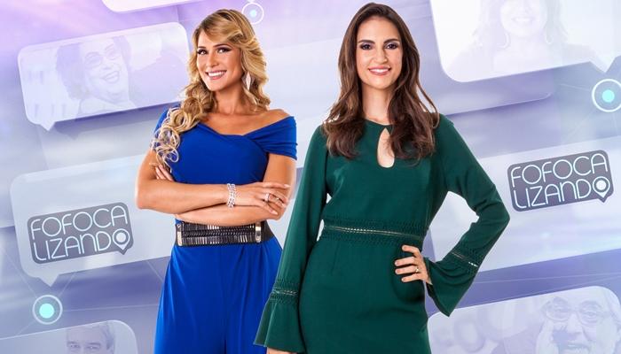 Lívia Andrade e Chris Flores vão apresentar o Fofocalizando (Foto: Divulgação/SBT)