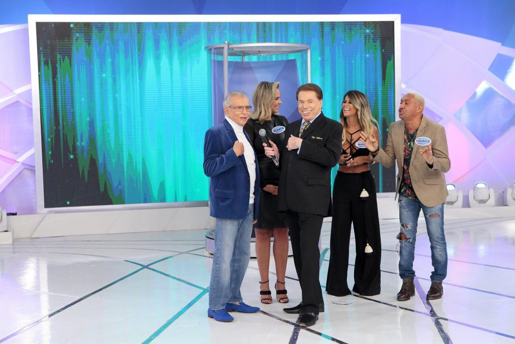 Jogo dos Casais: Carlos Alberto e Renata Pinheiro x Tiririca e Nana Magalhães