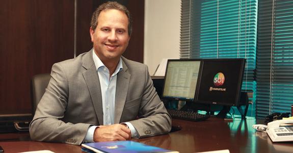 José Roberto Maciel no SBT (Foto: Reprodução)