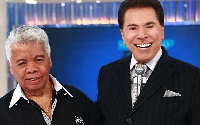 Silvio e Roque, seu amigo. Foto - divulgação.