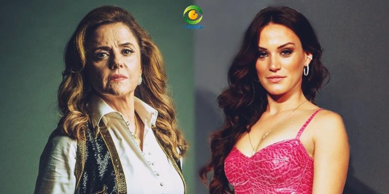 duas mulheres e atrizes da novela o outro lado do paraíso
