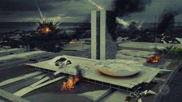 Novela Apocalipse chegou recheada de efeitos especiais (Foto reprodução)