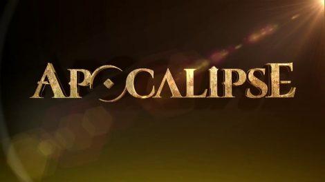 Logo da novela Apocalipse (Foto: Reprodução/Record)
