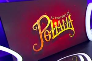 Logotipo da novela As Aventuras de Poliana revelado durante o Teleton 2017. (Foto: Reprodução)