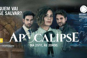 Campanha publicitária da novela Apocalipse (Foto: Divulgação/Record)