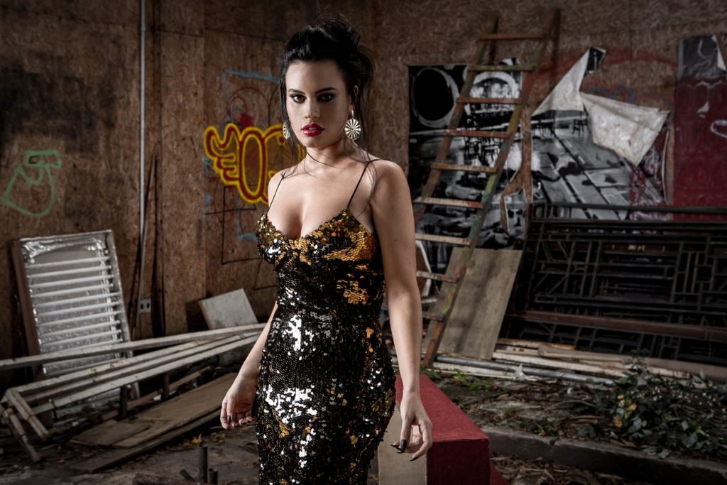 A atriz Letícia Lima (Foto: Fábio Rocha / Gshow)