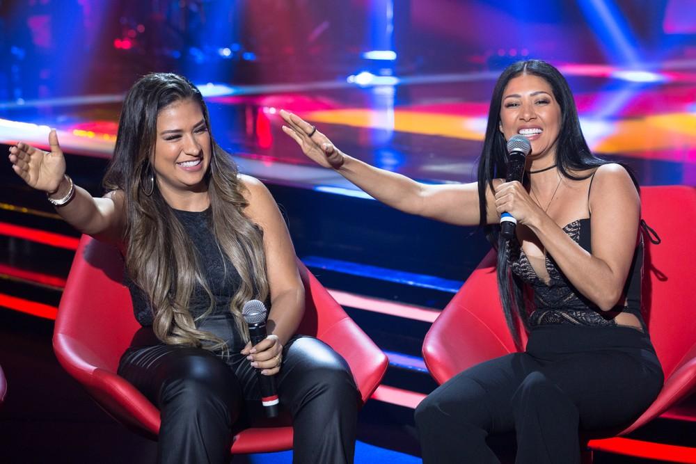 Simone e Simaria no The Voice Kids (Foto: Divulgação Fábio Rocha/Gshow)