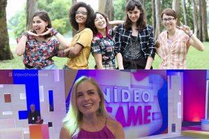Malhação e Angélica com Vídeo Game estão no Subiu, desceu de hoje (Foto montagem TV Foco)