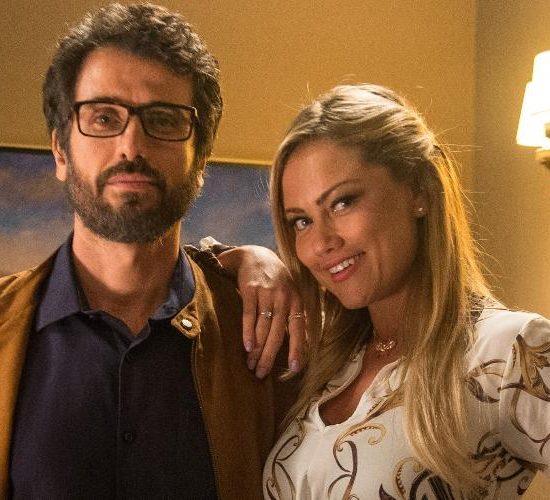 Samuel e Suzy em cena de O Outro Lado do Paraíso (Foto: Divulgação/Globo)