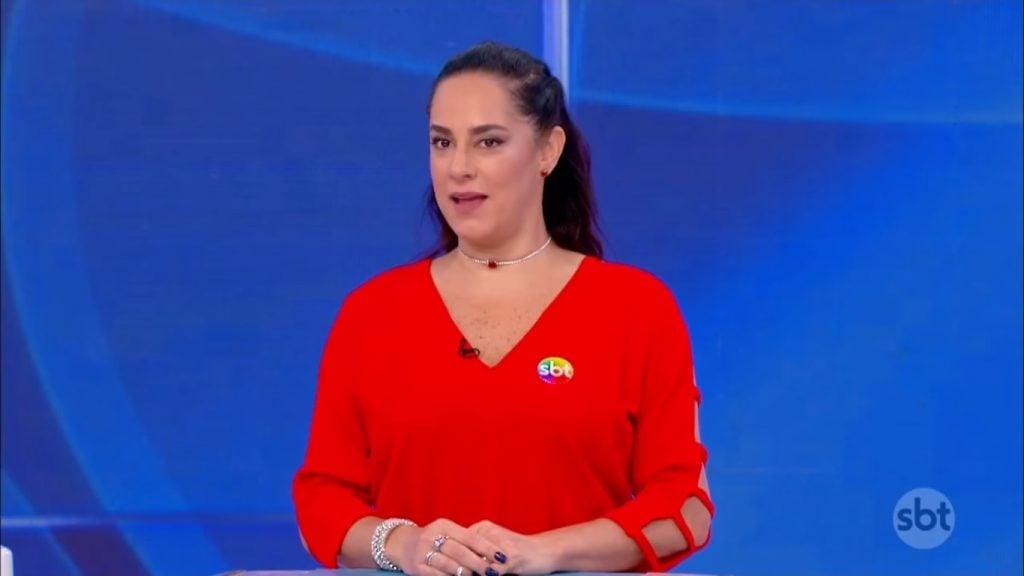 A apresentadora Silvia Abravanel reclama de salário no SBT. (Foto: Reprodução)