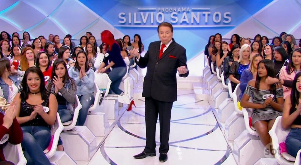 O apresentador Silvio Santos é dono do SBT. (Foto: Reprodução)
