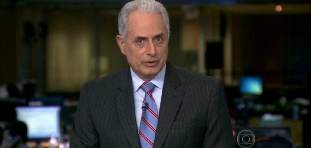 O jornalista William Waack (Foto: Reprodução/Globo)