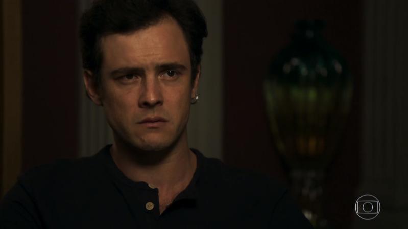 Gael (Sergio Guizé) em cena de O Outro Lado do Paraíso (Foto: Reprodução/Globo)