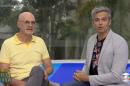 Marcos Caruso e Otaviano Costa no Vídeo Show (Foto: Reprodução/Globo)
