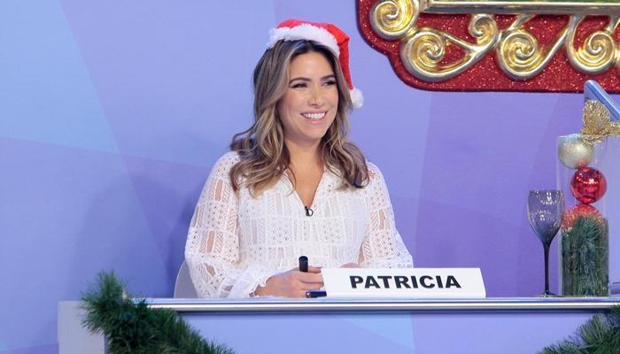 Patricia Abravanel no Jogo dos Pontinhos especial de Natal (Foto: Foto Lourival Ribeiro/SBT)