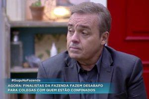 Fazenda Gugu. Foto do site da O TV Foco que mostra Gugu desbanca Roberto Justus e deve apresentar A Fazenda 10