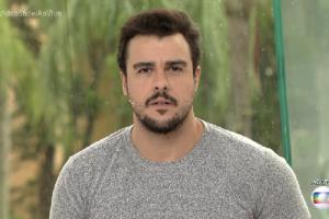 Joaquim Lopes no comando do Vídeo Show. (Foto: Reprodução/Globo)