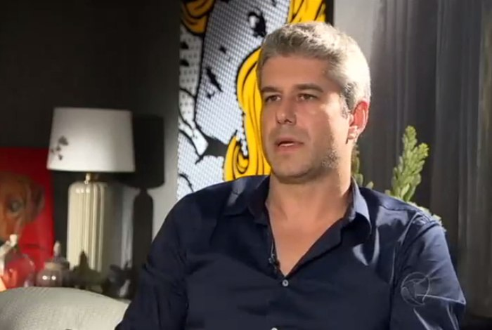 Gustavo Correa, cunhado de Ana Hickmann (Foto: Reprodução/RecordTV)