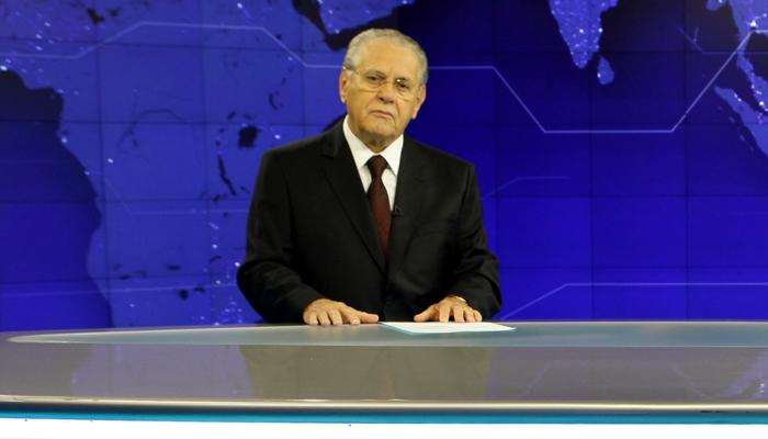 Joseval Peixoto no comando do SBT Brasil (Foto: Lourival Ribeiro/SBT)