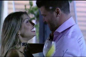 Fazenda Noticias. Foto do site da O TV Foco que mostra Marcelo Ié Ié já planeja futuro com Flávia e diz o que irá fazer assim que ela sair de A Fazenda