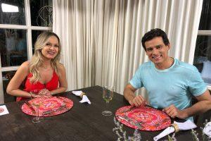 Eliana e Celso Portiolli no programa Eliana (Foto: Divulgação/SBT)