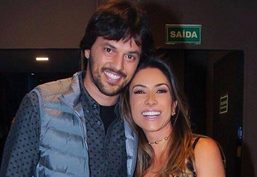 Patricia e o marido, Fábio Faria (Foto: Divulgação)