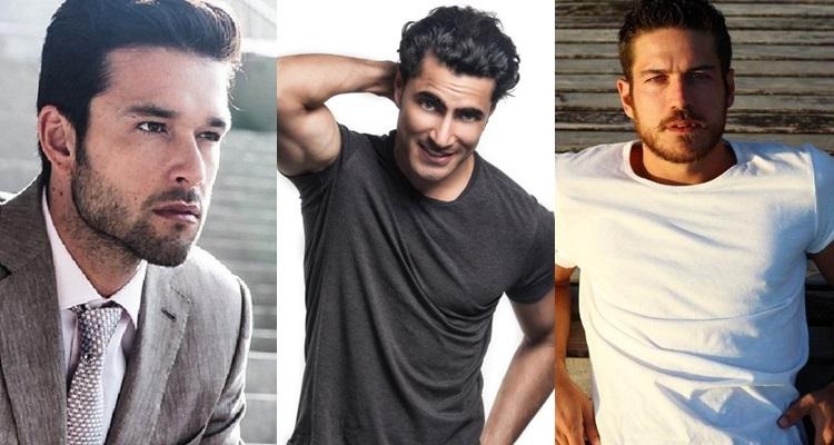 três atores brasileiros e sua beleza
