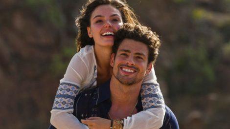 Cauã Reymond e Isis Valverde em Amores Roubados (Foto: Estevam Avellar/Globo)
