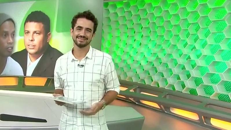 O apresentador Felipe Andreoli (Reprodução)