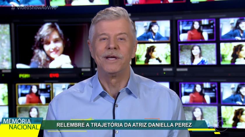 Fase em que Miguel Falabella apresentava o Vídeo Show é a mais lembrada até hoje (Foto: Reprodução)