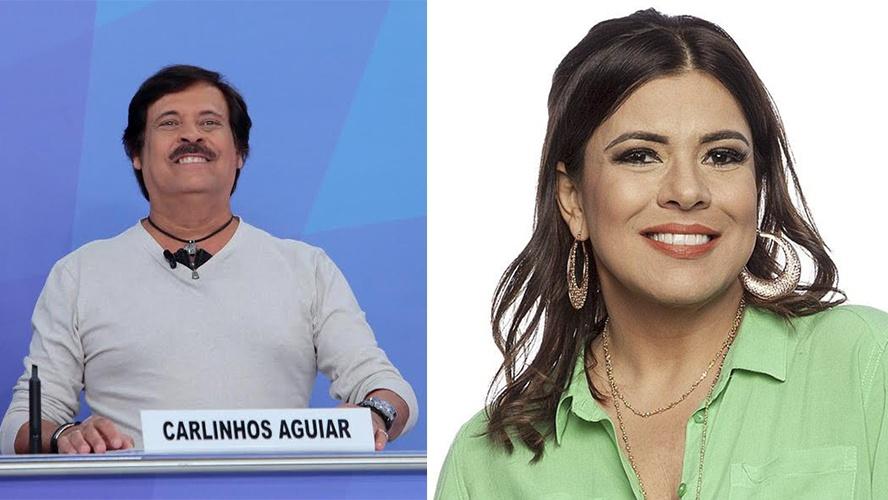 Carlinhos Aguiar e Mara Maravilha (Foto: Reprodução)