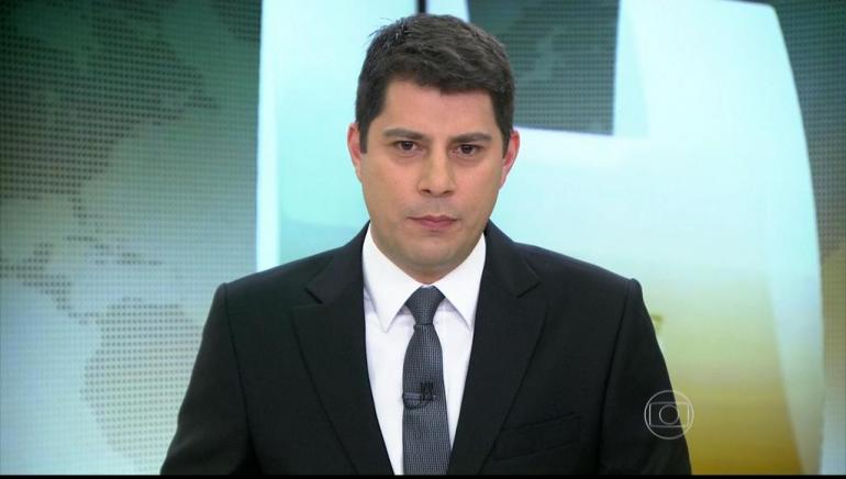 Evaristo Costa. Foto do site da O TV Foco que mostra Fora da Globo, Evaristo Costa diz que sonha em ser contratado por outra emissora