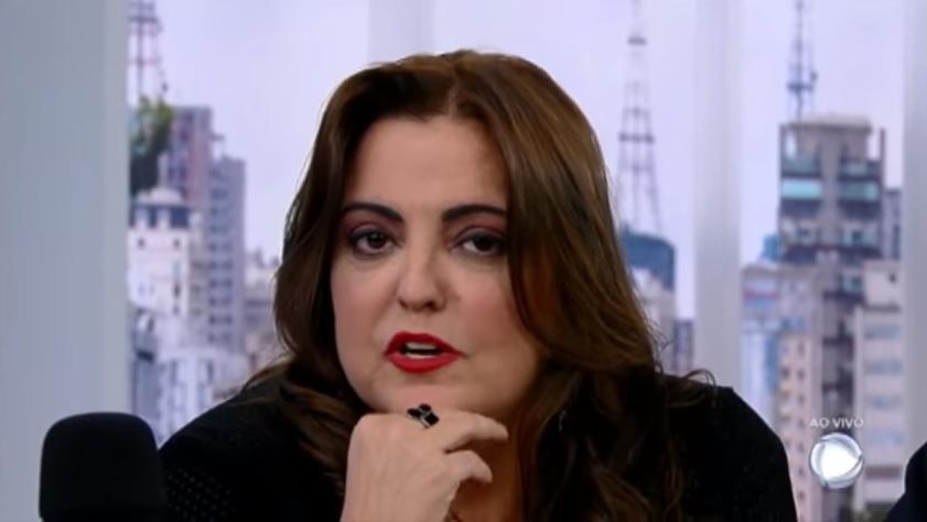A apresentadora e jornalista Fabíola Reipert. (Foto: Reprodução/Record)