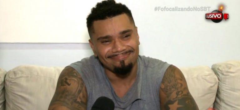 O cantor Naldo pagou fiança para deixar a cadeia. (Foto: Reprodução)