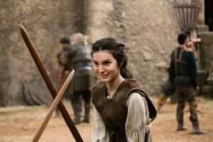 Marina Moschen (Selena) em Deus Salve o Rei (Foto: Globo/Tata Barreto)