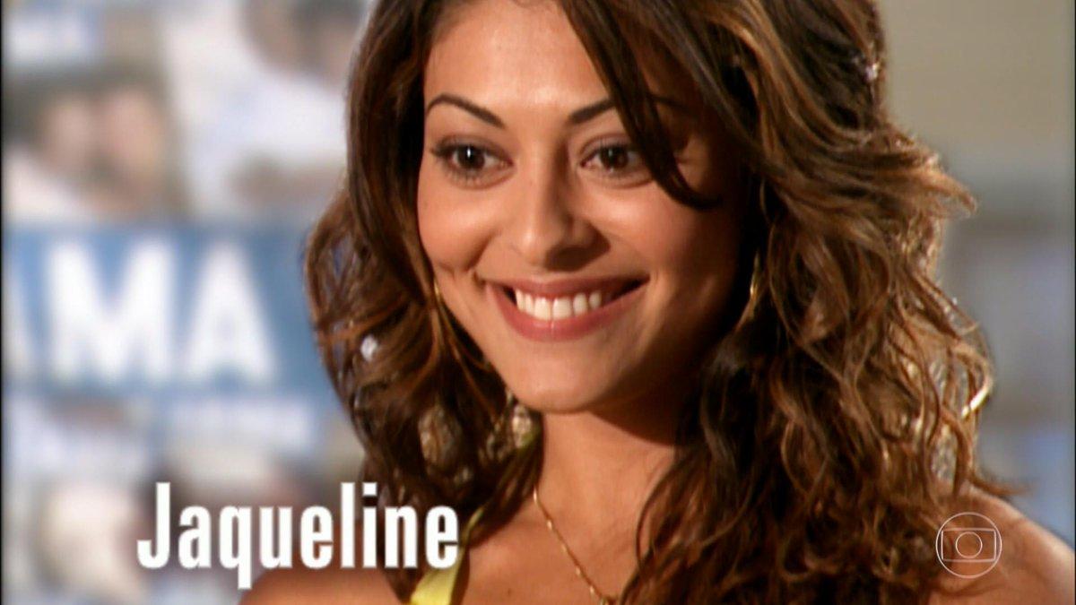Jaqueline em Celebridade (Foto: Reprodução)