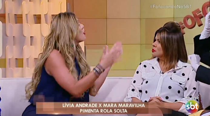 Lívia Andrade estreia no Fofocalizando (Foto: Reprodução)
