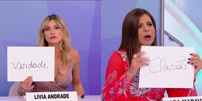 Lívia Andrade mandou nova indireta para a colega Mara Maravilha. (Foto: Reprodução)