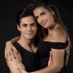 Lucas Veloso e Nathália Melo (Foto: Isabella Pinheiro/Gshow)