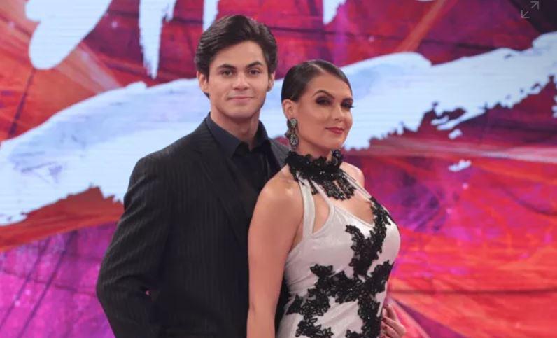 Lucas Veloso e Nathália Melo (Foto: Divulgação/TV Globo)