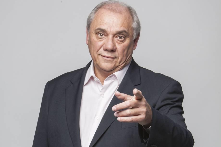 O jornalista Marcelo Rezende (Foto: reprodução)