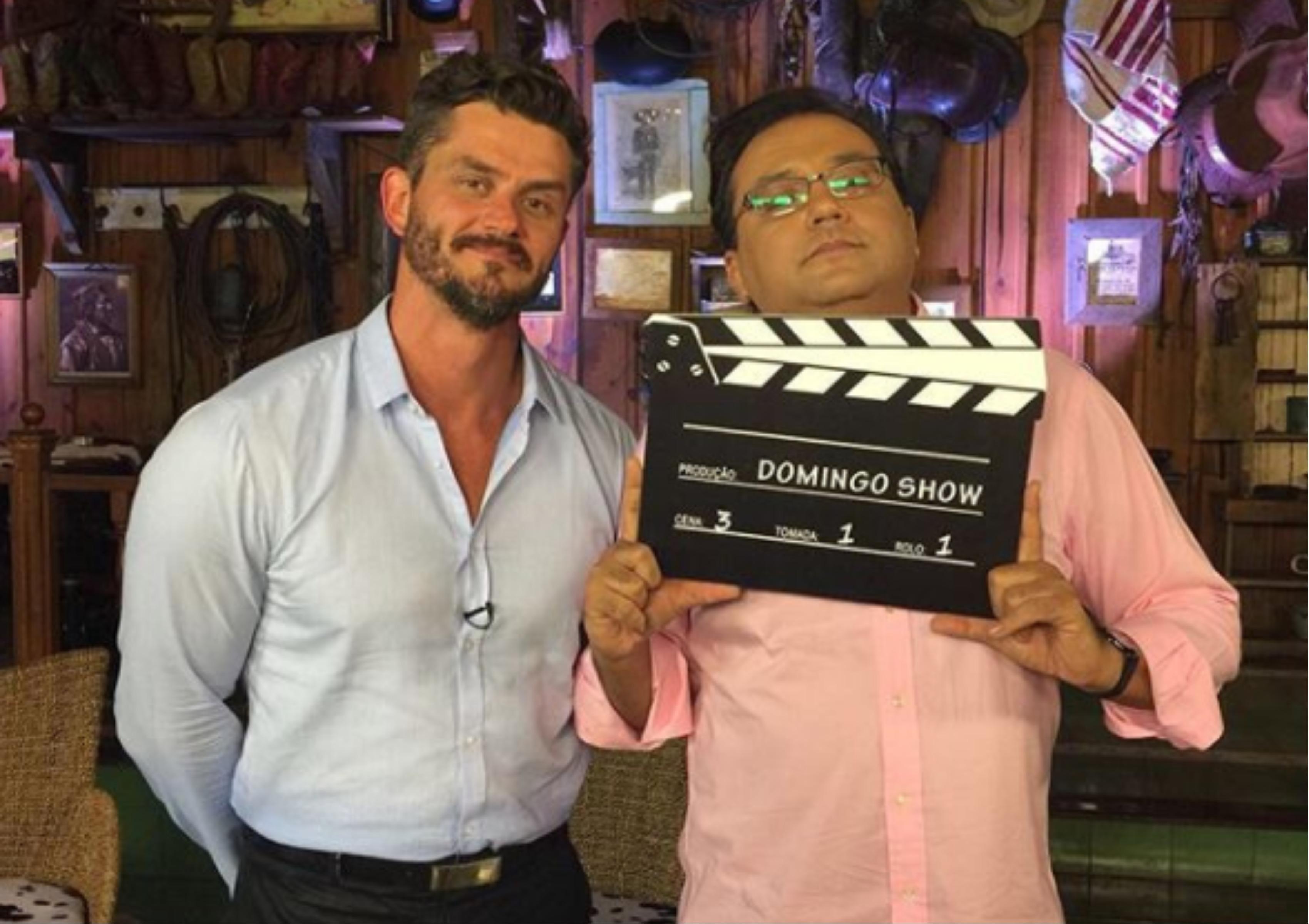 Geraldo Luís e Marcos Harter (Foto Instagram)