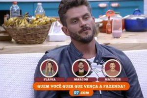 Fazenda. Foto do site da O TV Foco que mostra Após A Fazenda, Marcos pensa em largar a cirurgia plástica e mudar de ramo na medicina